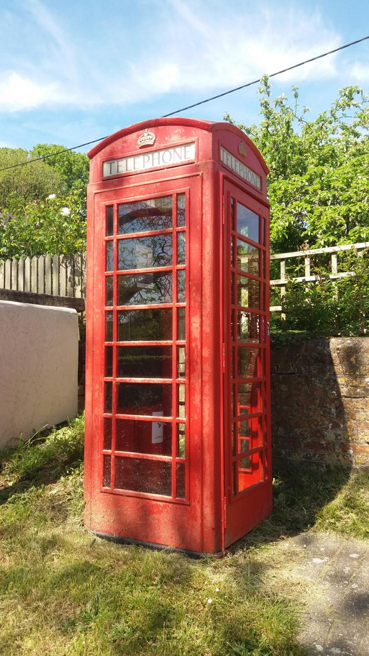 Phone box Before
